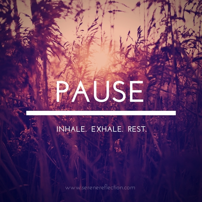 The Pause Diet for Joy and Peace
