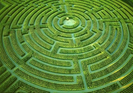 maze top view