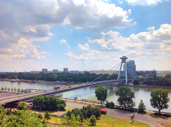 UFO Bridge, Bratislava