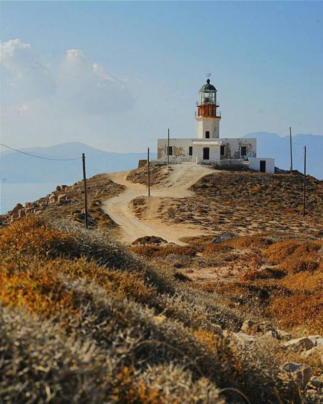Mykonos lighthouse by Tanushree Vaidya