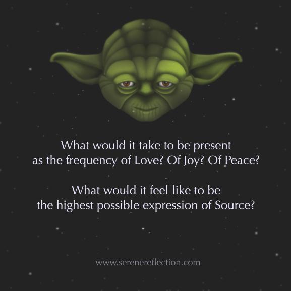 Yoda speaks